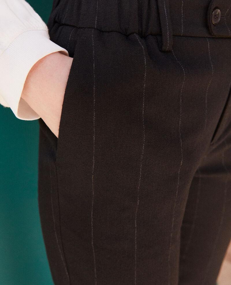 Carrot trousers Noir Galetta