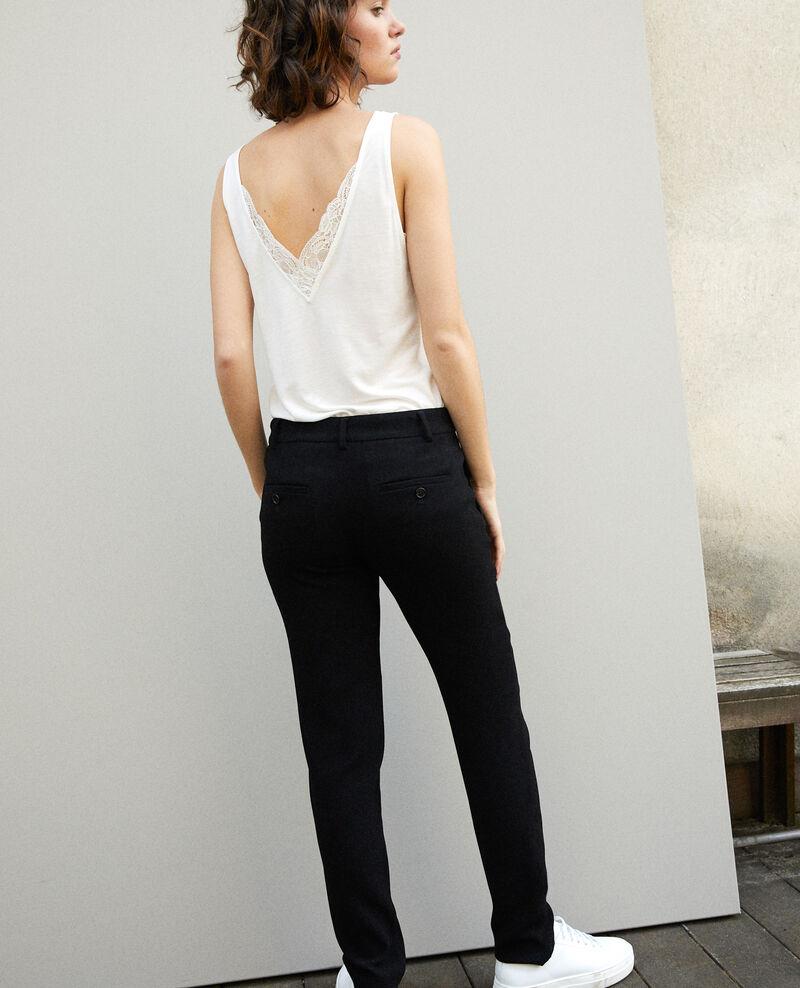 Suit-style trousers Noir Gersende