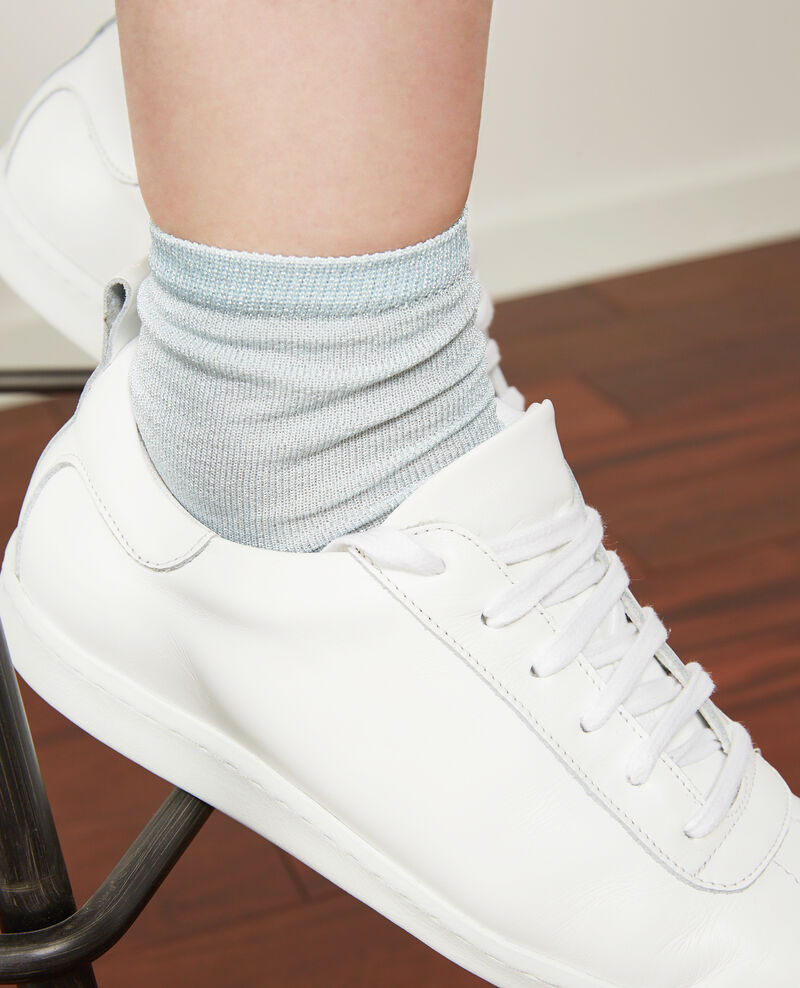 Sparkly socks Ice blue Daussette