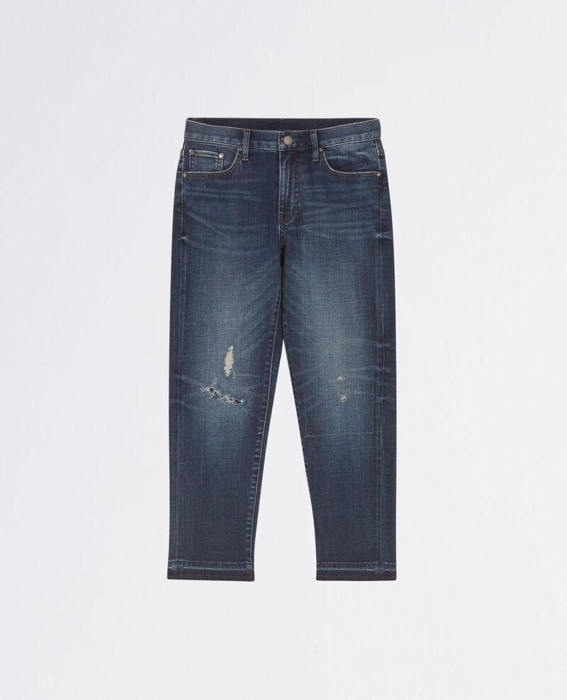 Boyfriend jeans Dark blue Chiba