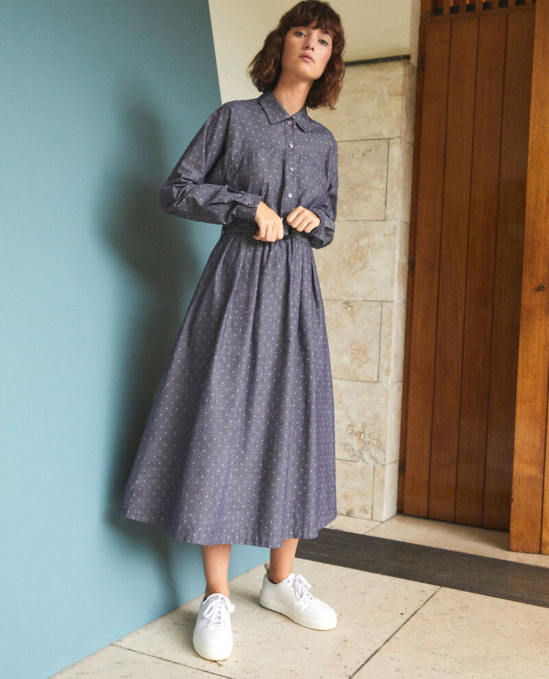 Mid-length dress WP PEACOAT