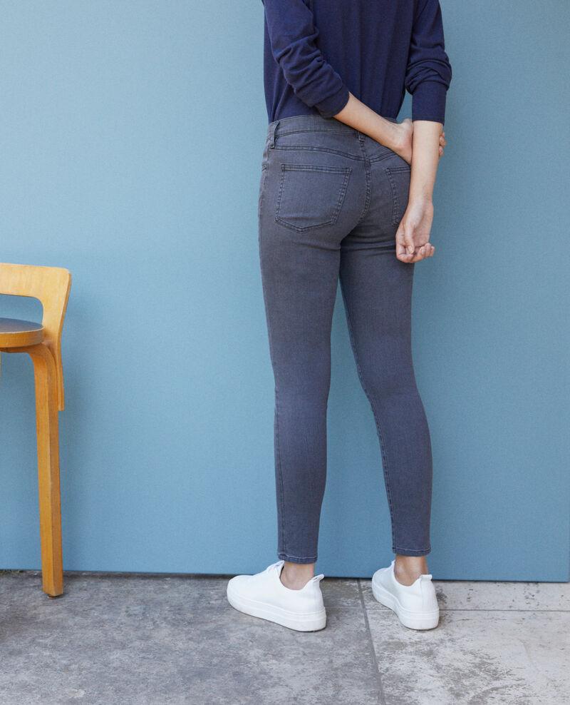 7/8 skinny cropped jeans Grey wash Griselda