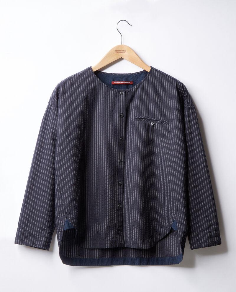 Striped shirt NAVY/OFF WHITE STRIPES
