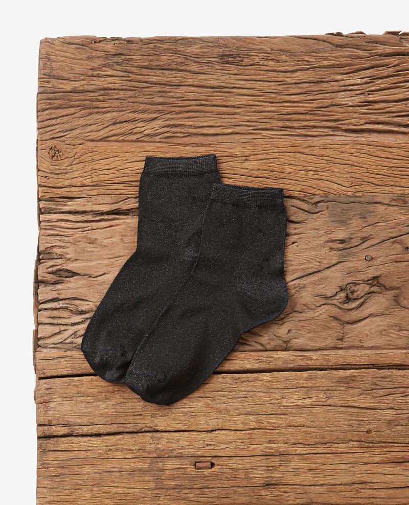 Sparkly socks Noir Daussette