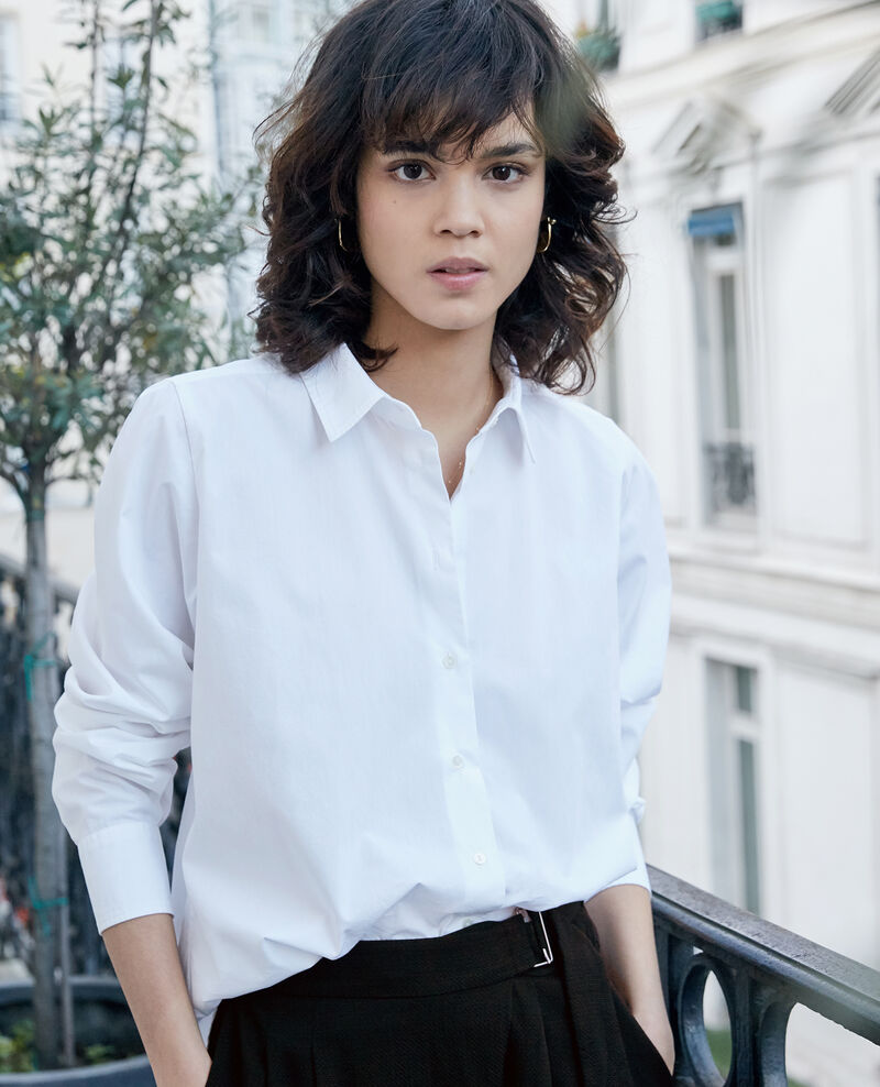 Oversize shirt BLANC