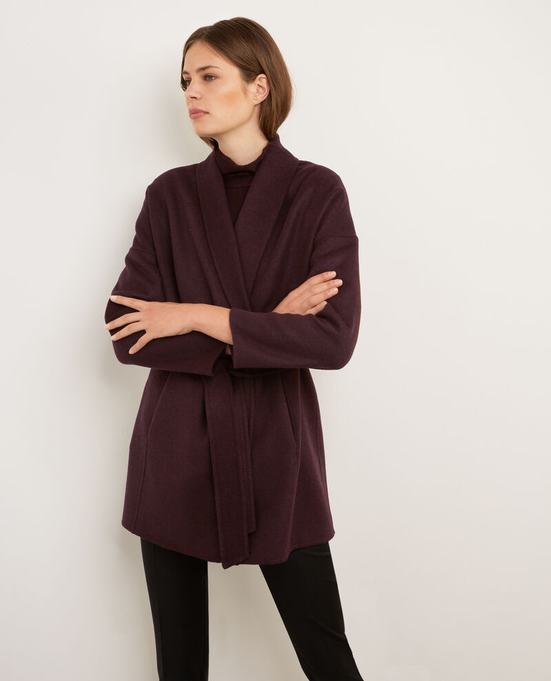 Wool coat Maroon Bonbi