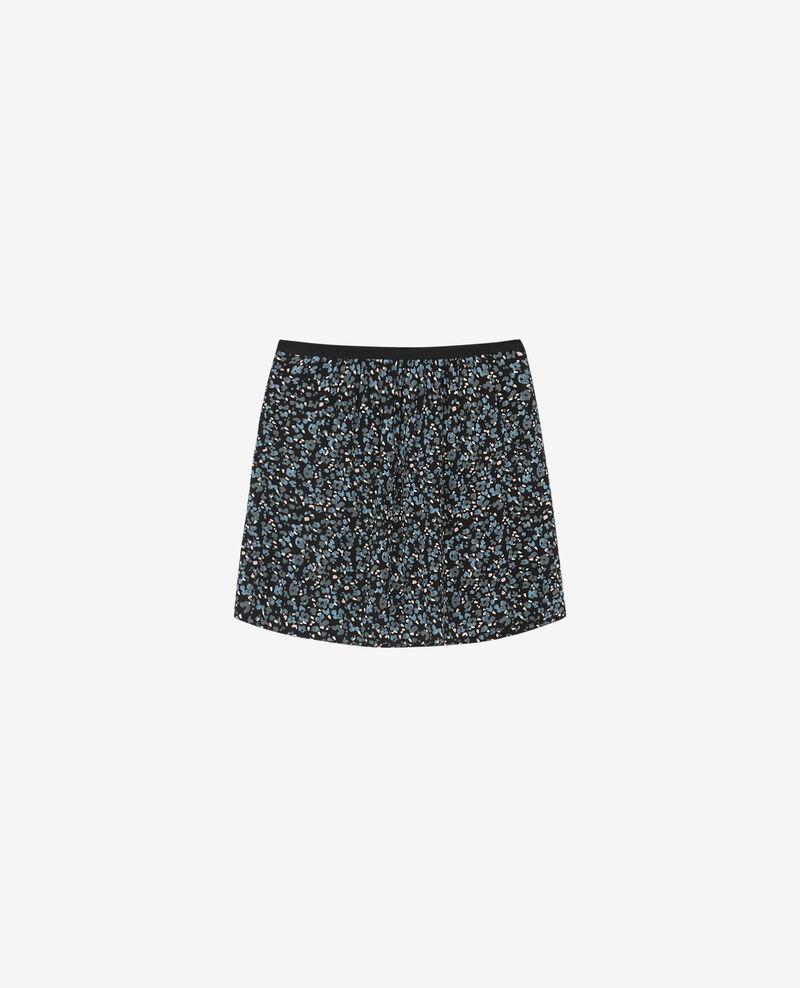 Printed skirt Wildcat black Dobolt