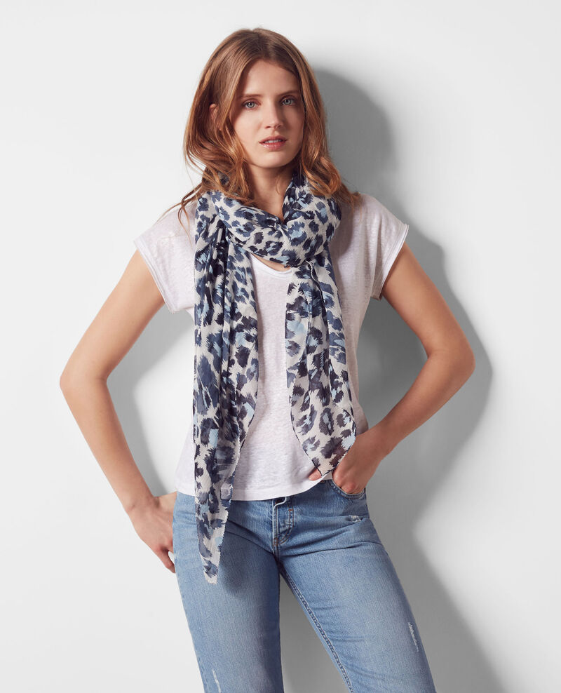 Printed scarf Wild panthere Cagne