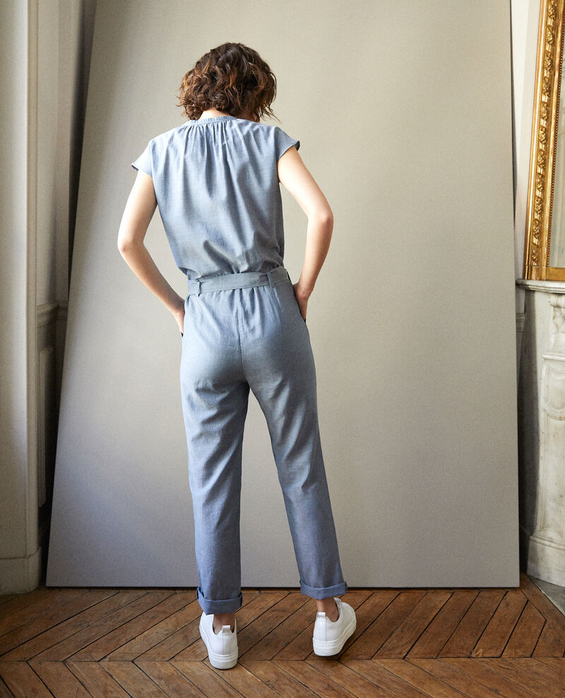 Jumpsuit Majolica blue Garrigue