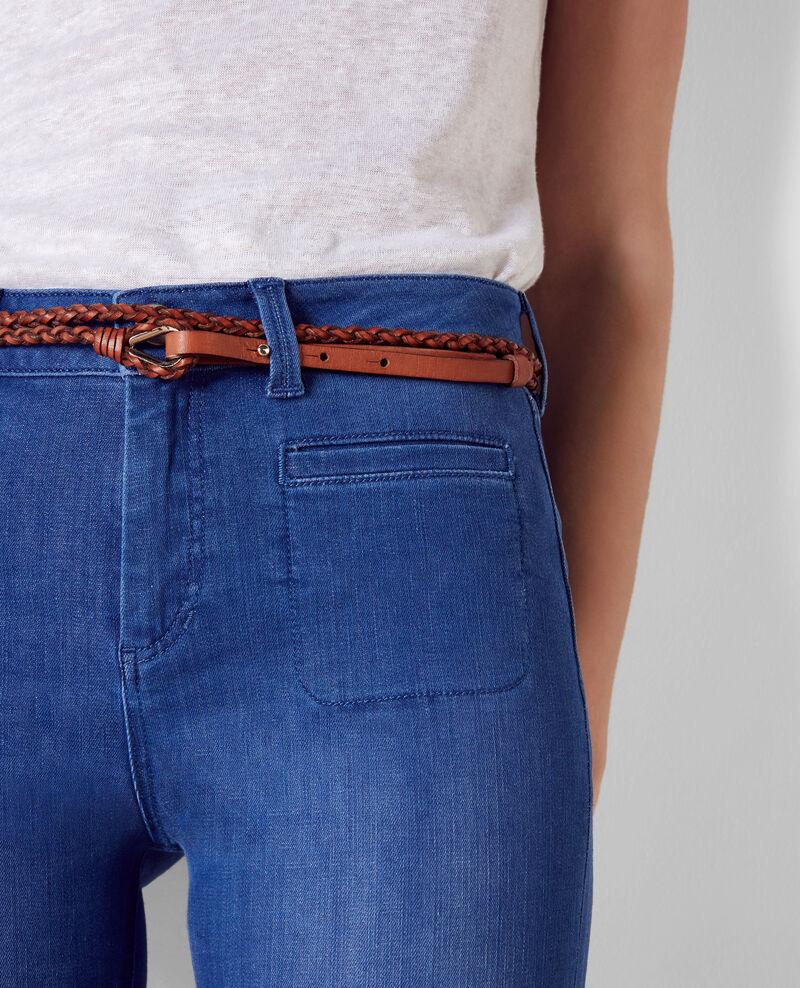 Folie douce high-waist flared jeans Cristal blue Clairiere