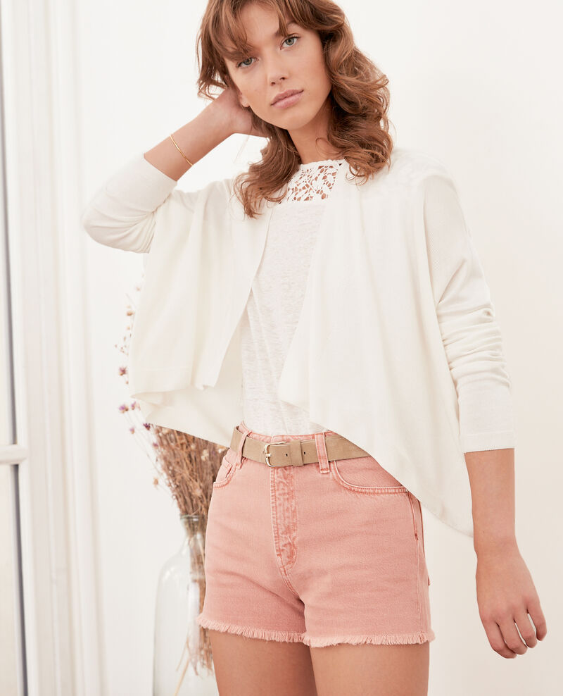 Short cardigan Off white Faufil