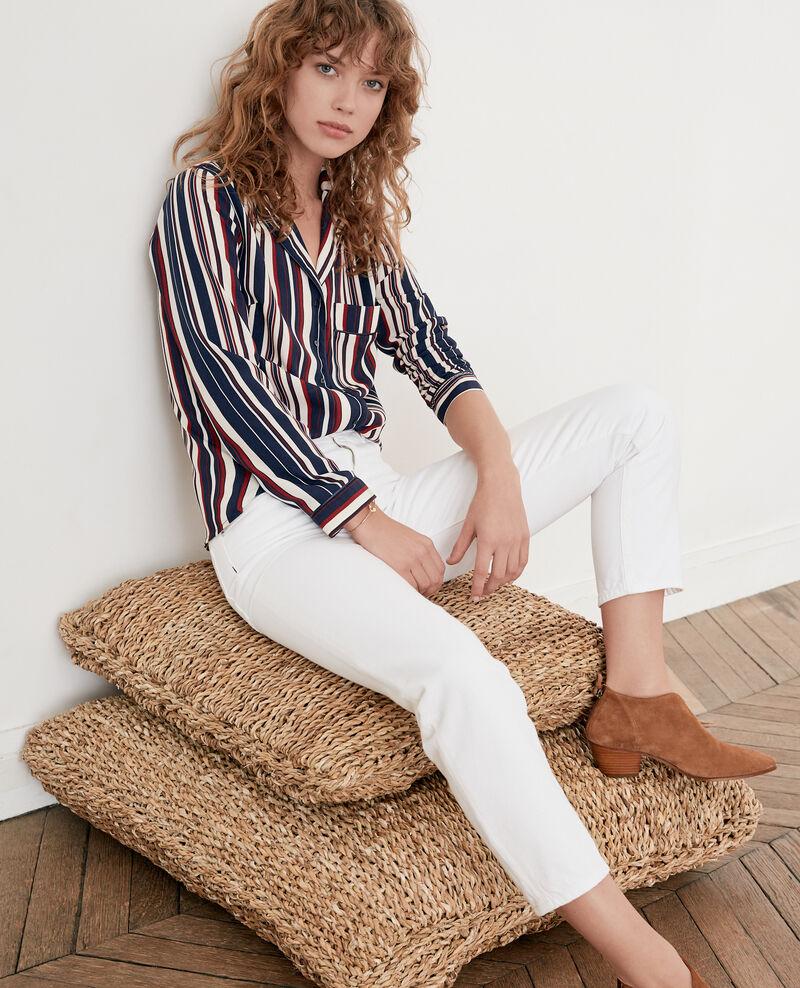 Vintage fit jeans BLANC