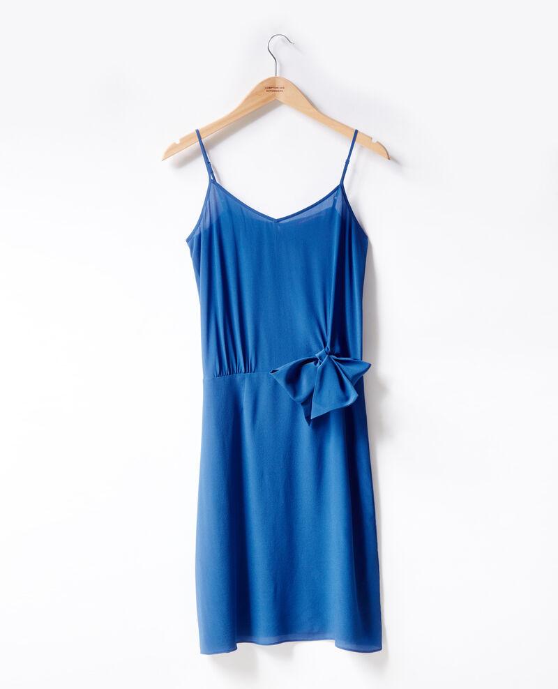 Silk dress Ultra marine Figurine
