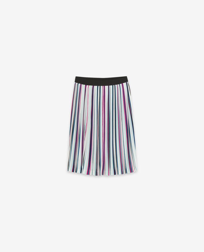 Pleated skirt Peony/deep sea Deleta