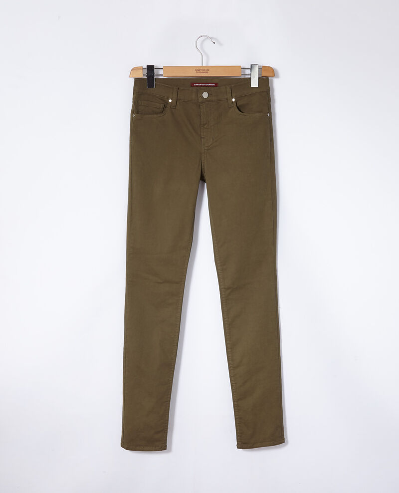 Slim fit jeans Olive night Goneto