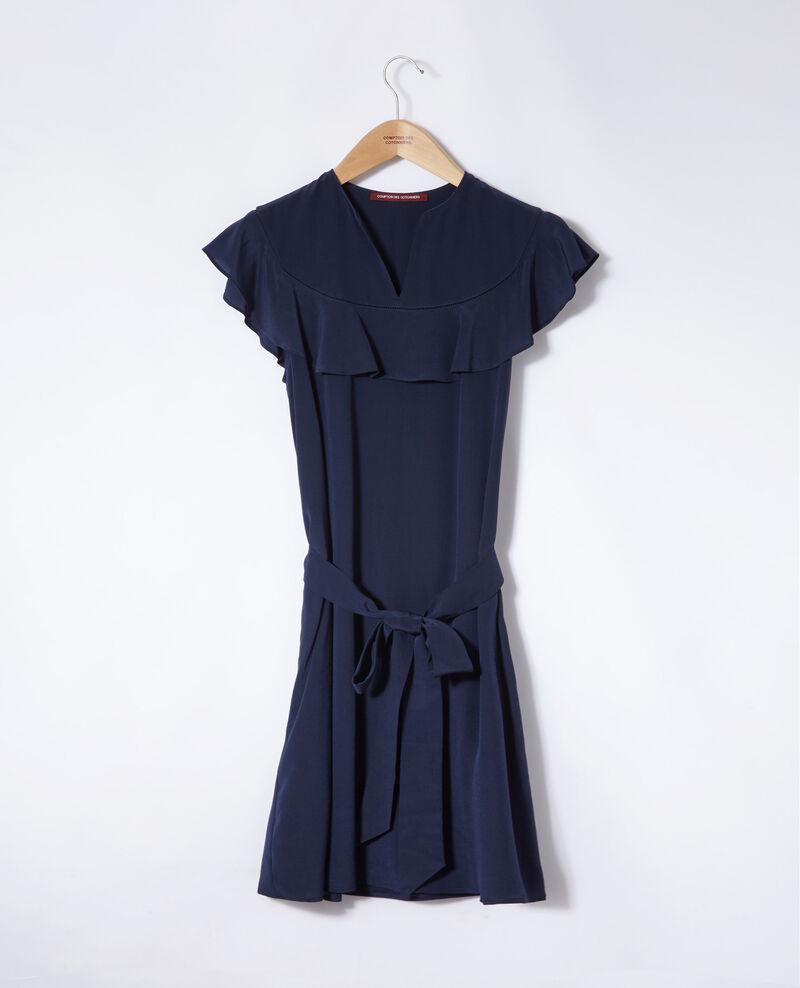 Frilly dress Peacoat Gaudence