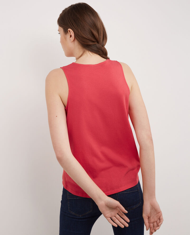 Dual-fabric t-shirt Cerise Bilibob