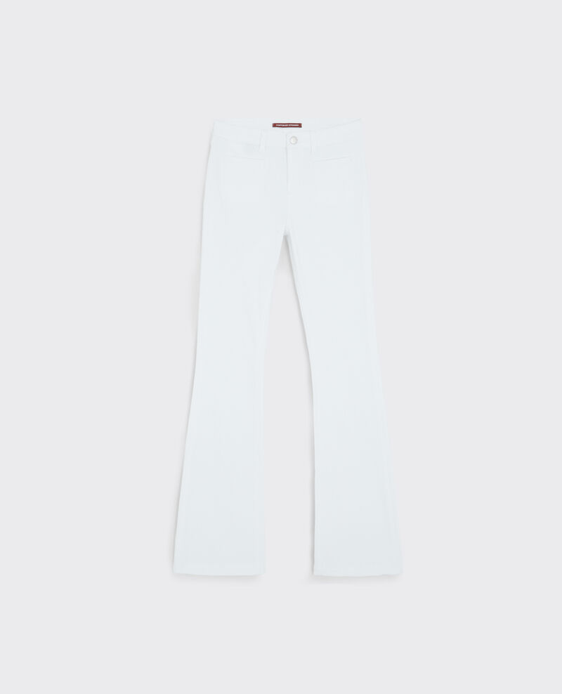 """""""Folie douce"""" high-rise flared jeans  Off white Capetown"""