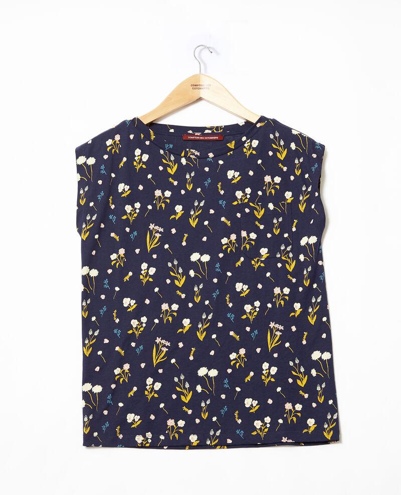 Cotton t-shirt  Sm peacoat Ginolita