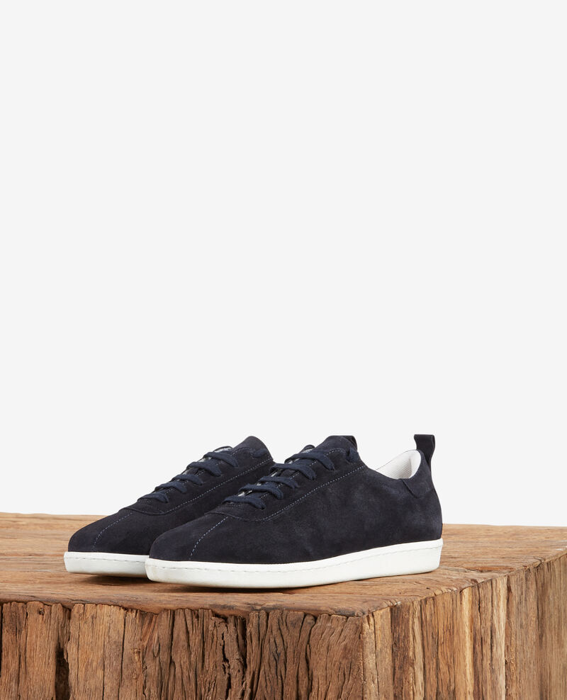 Leather sneakers NAVY