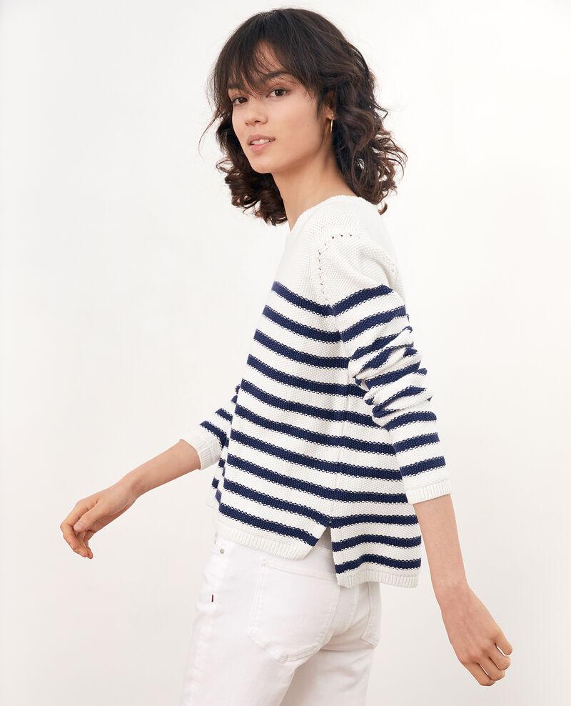 d234c4e7bbdb1 ... Short cardigan Off white Faufil · Breton striped jumper OFF WHITE MARINE