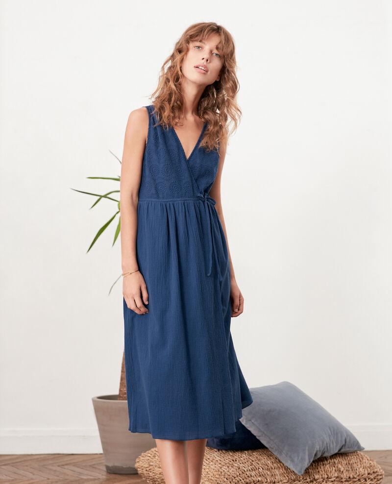 Wrap dress INDIGO