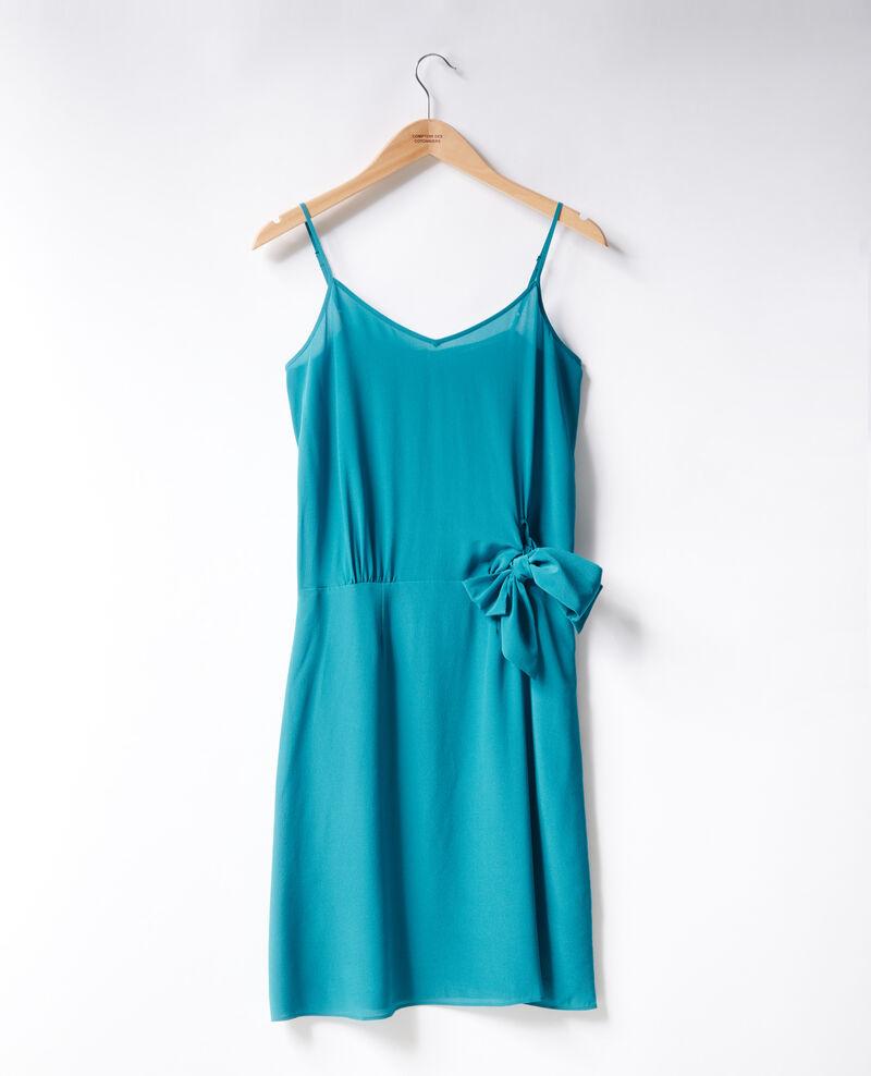 Silk dress Pacific green Figurine