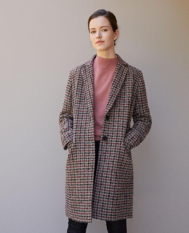 Straight fit coat Cowhide Gitchinie