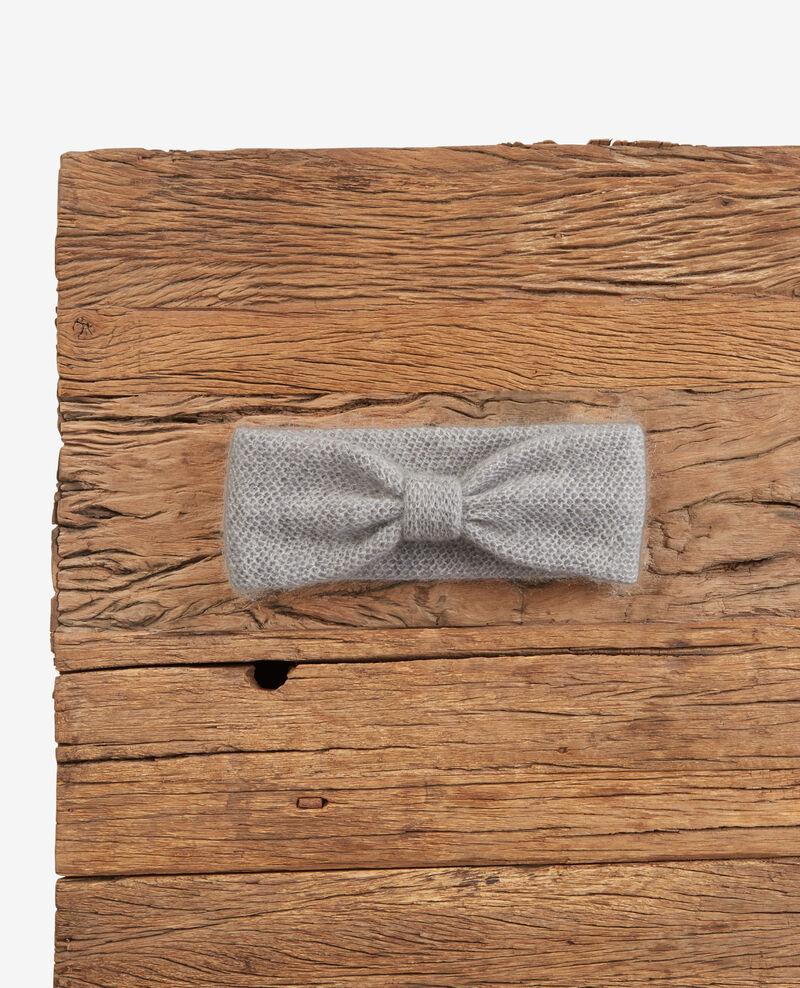 Mohair headband Light grey Deimos
