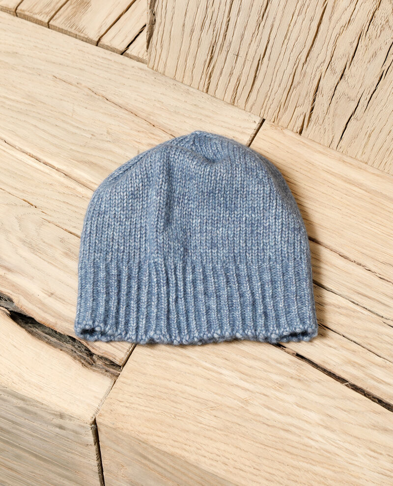 Knit beanie ADRIATIC BLUE
