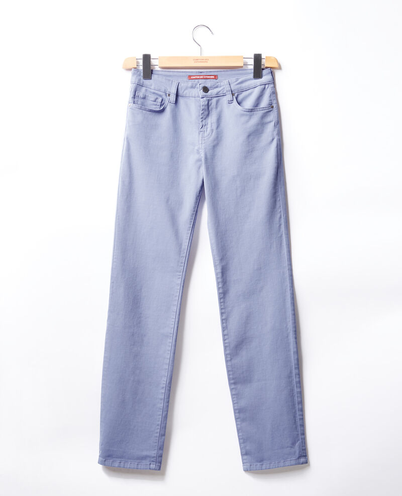 Cigarette jeans Dark iris Figoneto