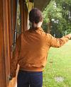 Suede jacket Golden brown Ganberry