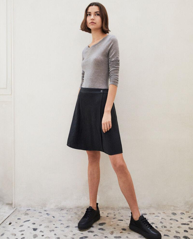 Mini skirt with buckle Noir Itea