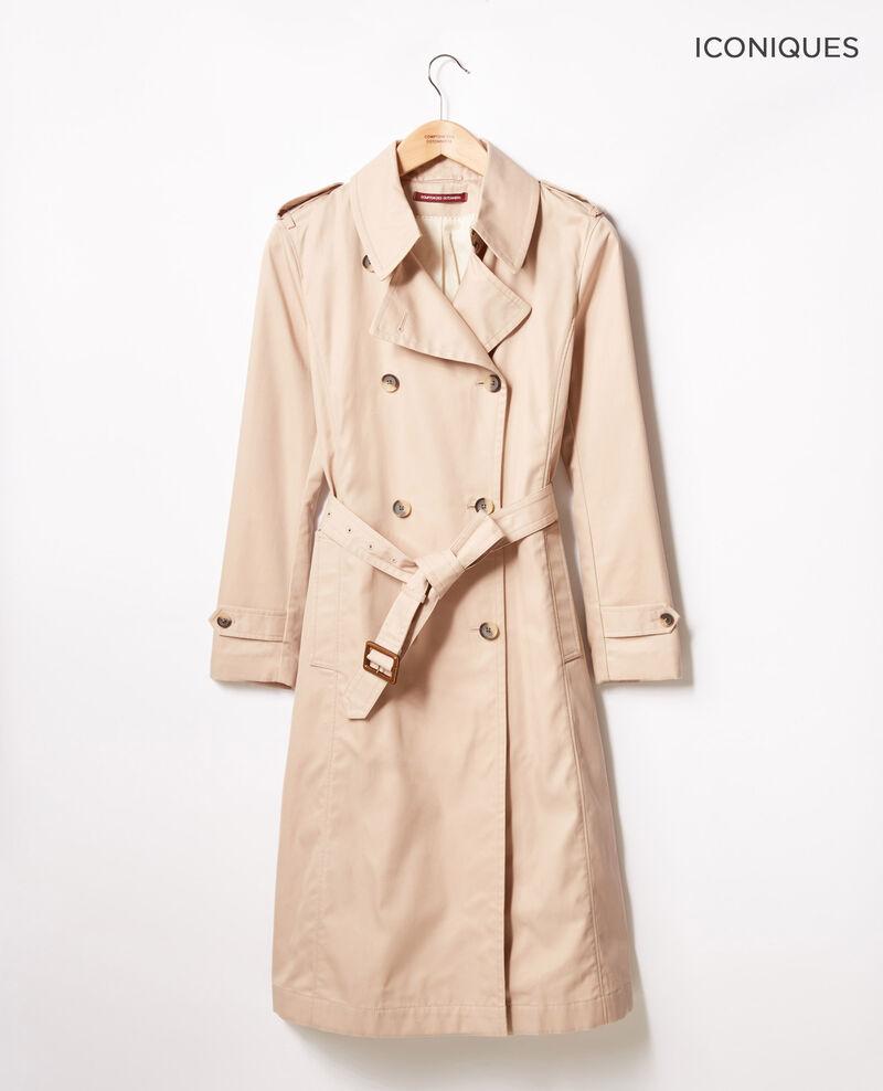 Iconic fit Trench coat Tan Fadja