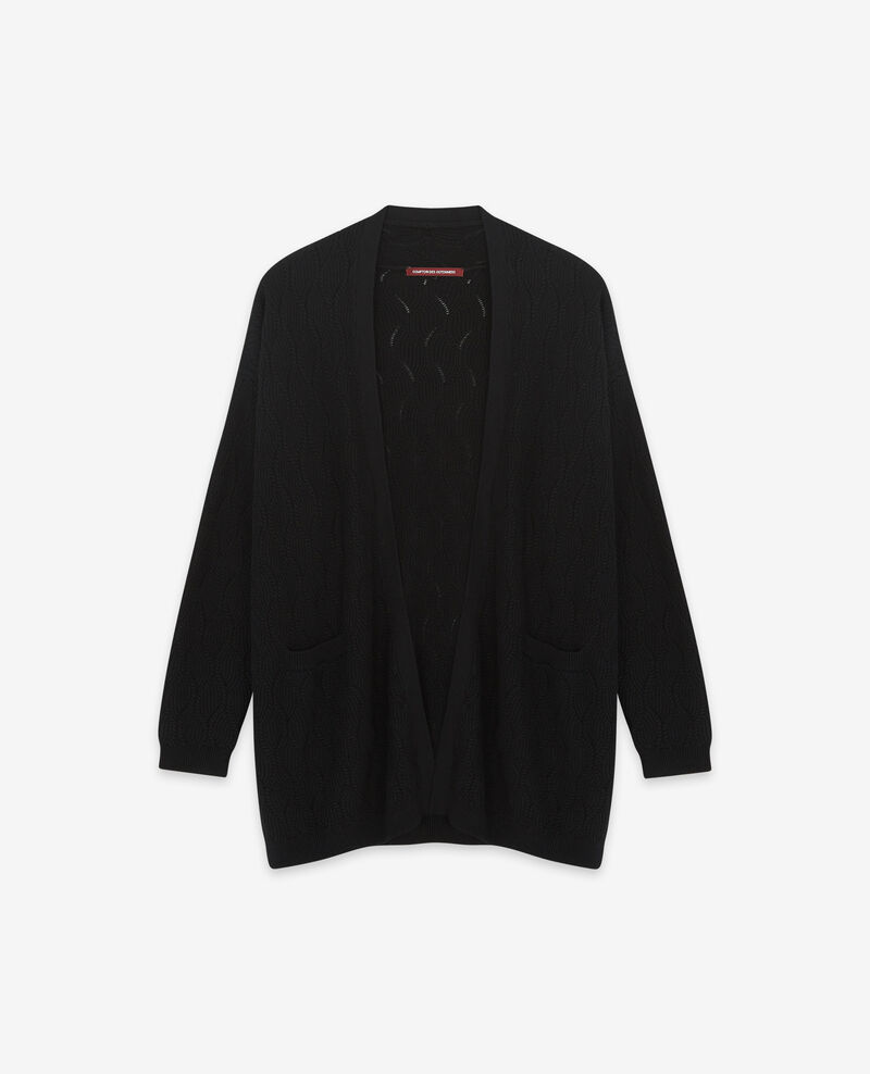 Long cardigan Noir Doatigan