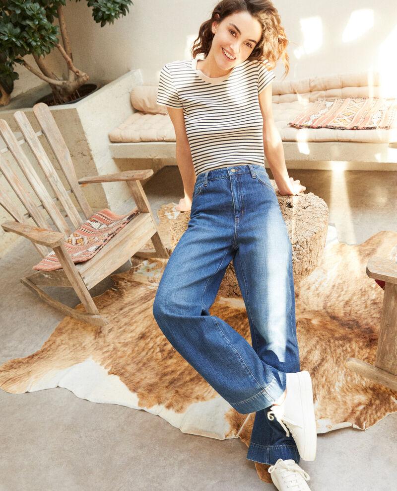Wide full-length jeans VINTAGE WASH