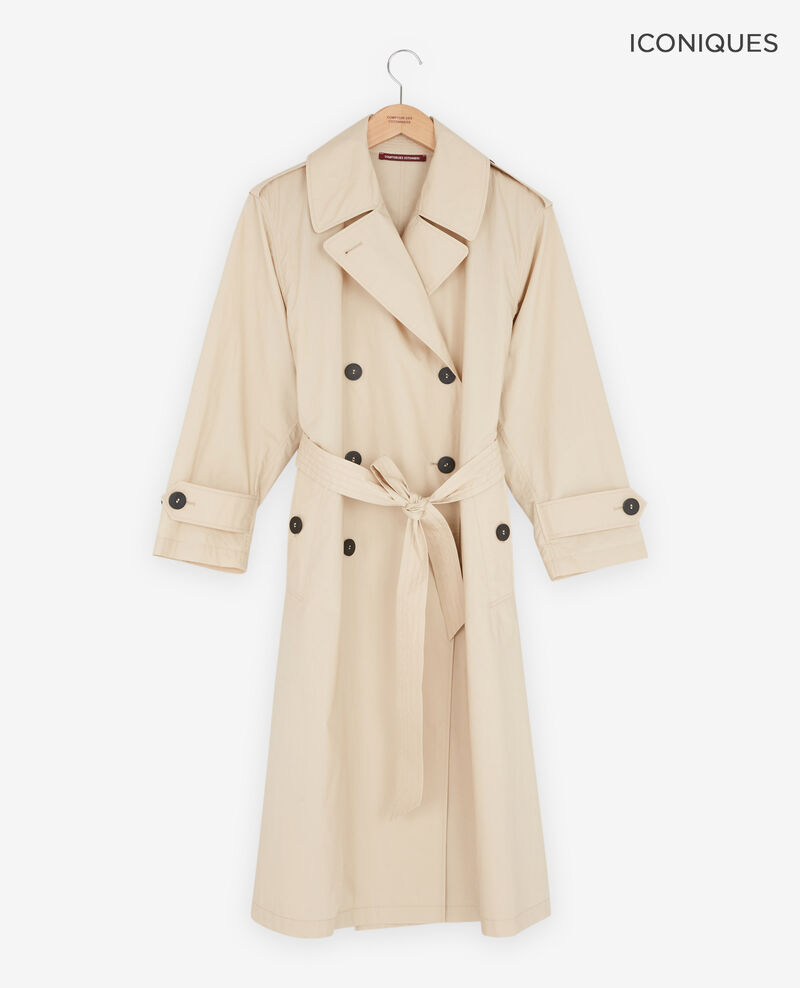 Light trench coat Tan Fleur