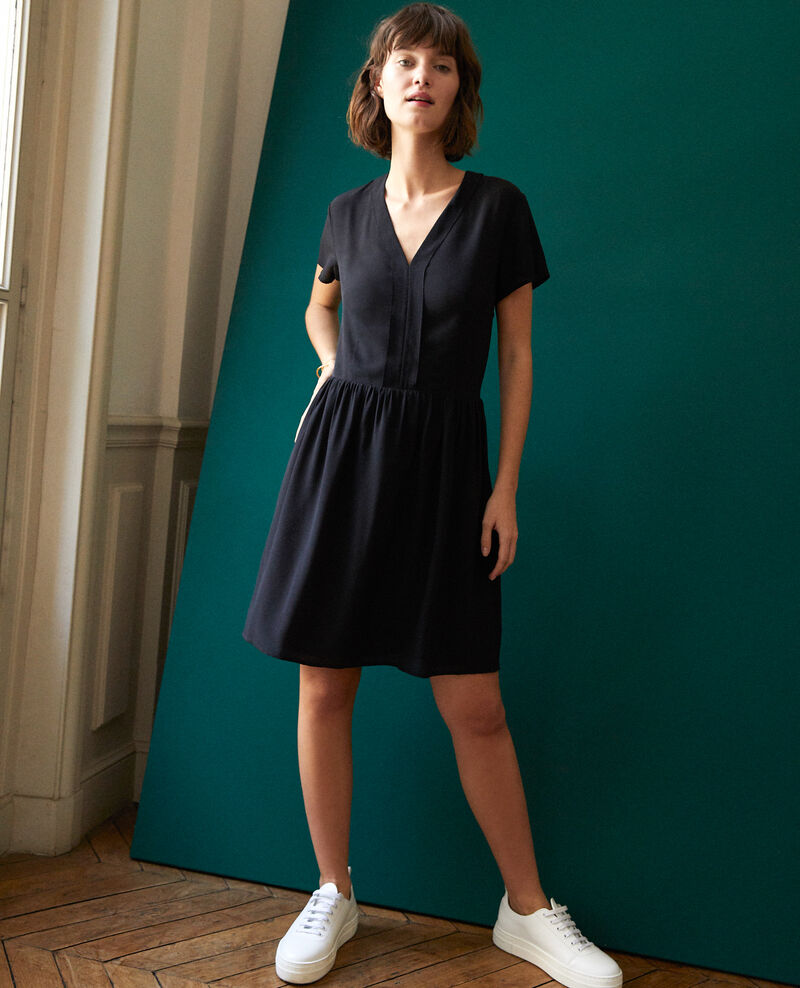 V neck dress NOIR