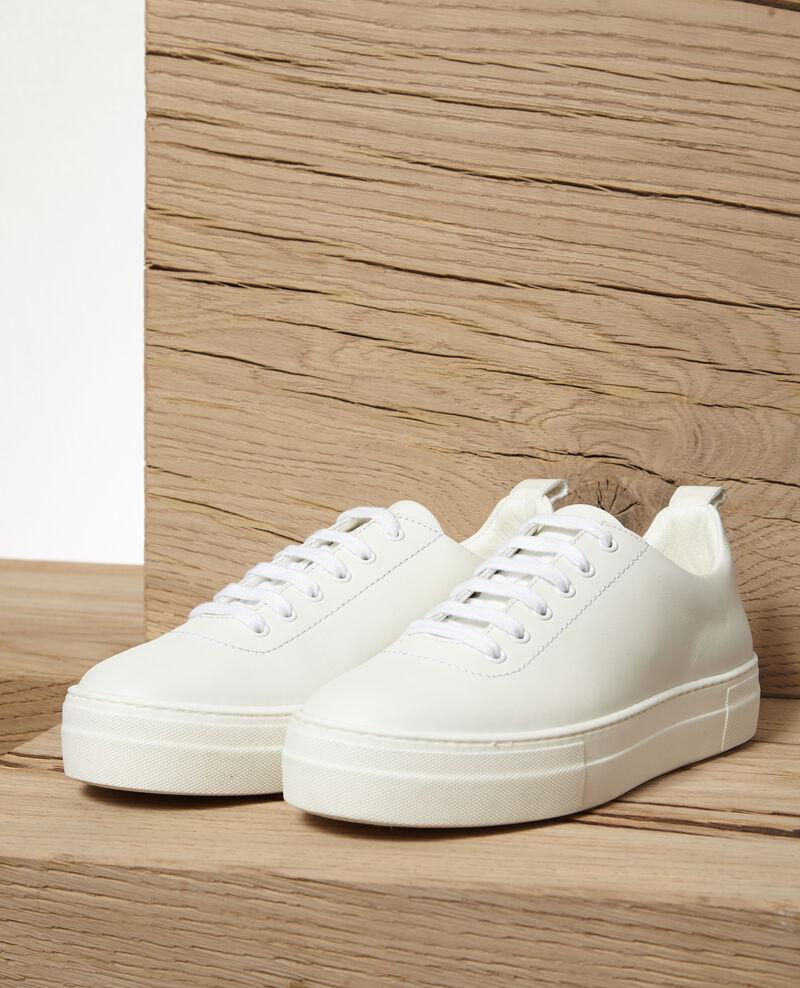Platform sneakers BLANC
