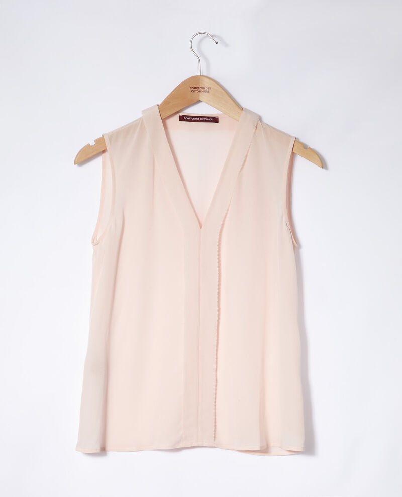 Sleeveless top Cloud pink Ganet