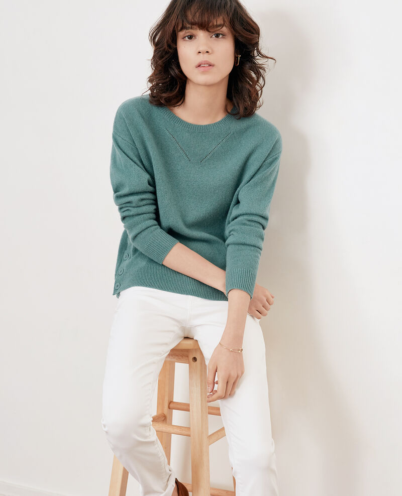 Cashmere jumper PEPPERMINT