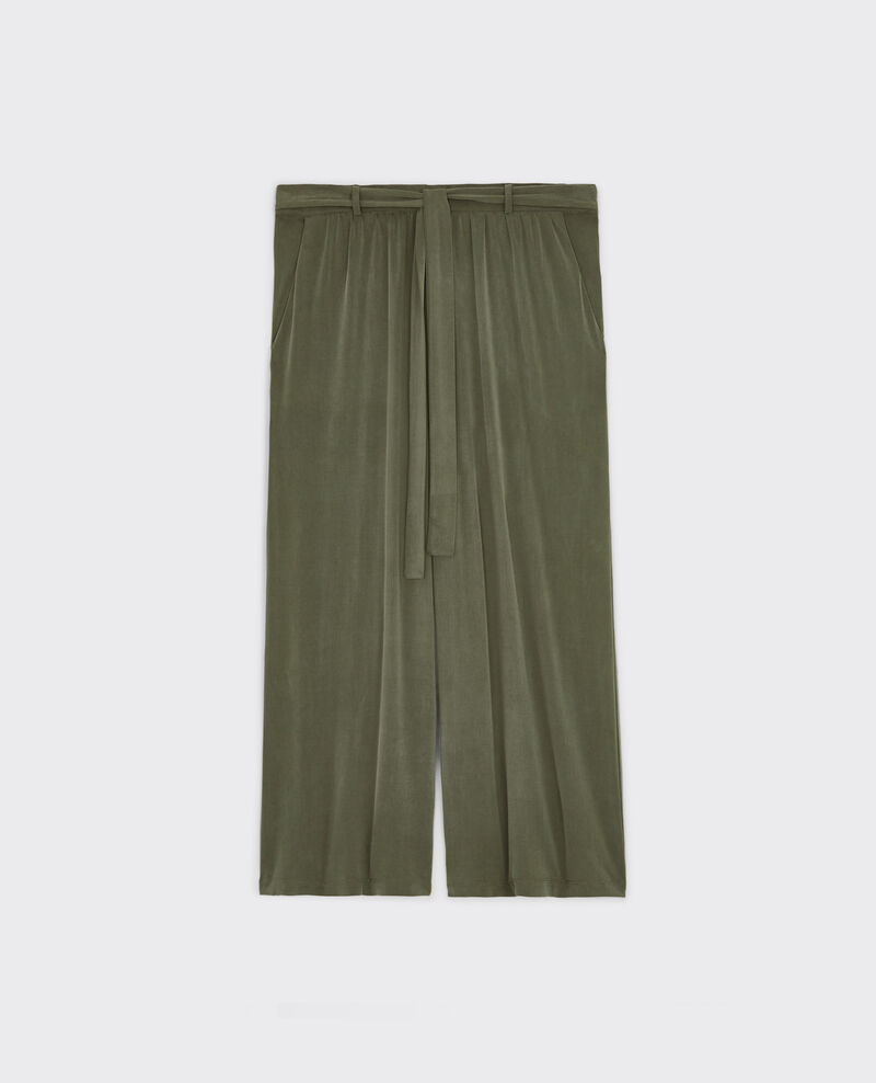 Loose fit culotte trousers Veronese Cavaliere