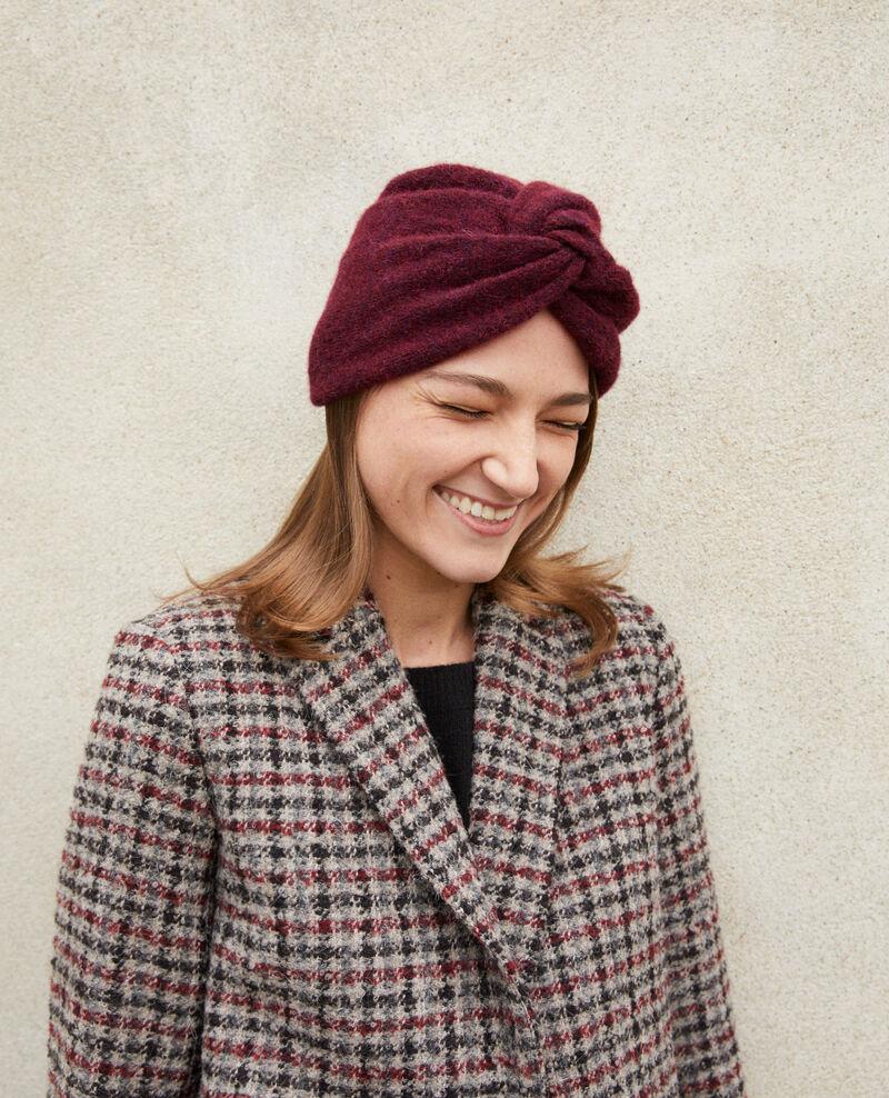 Turban-style hat DECADENTE CHOCOLATE