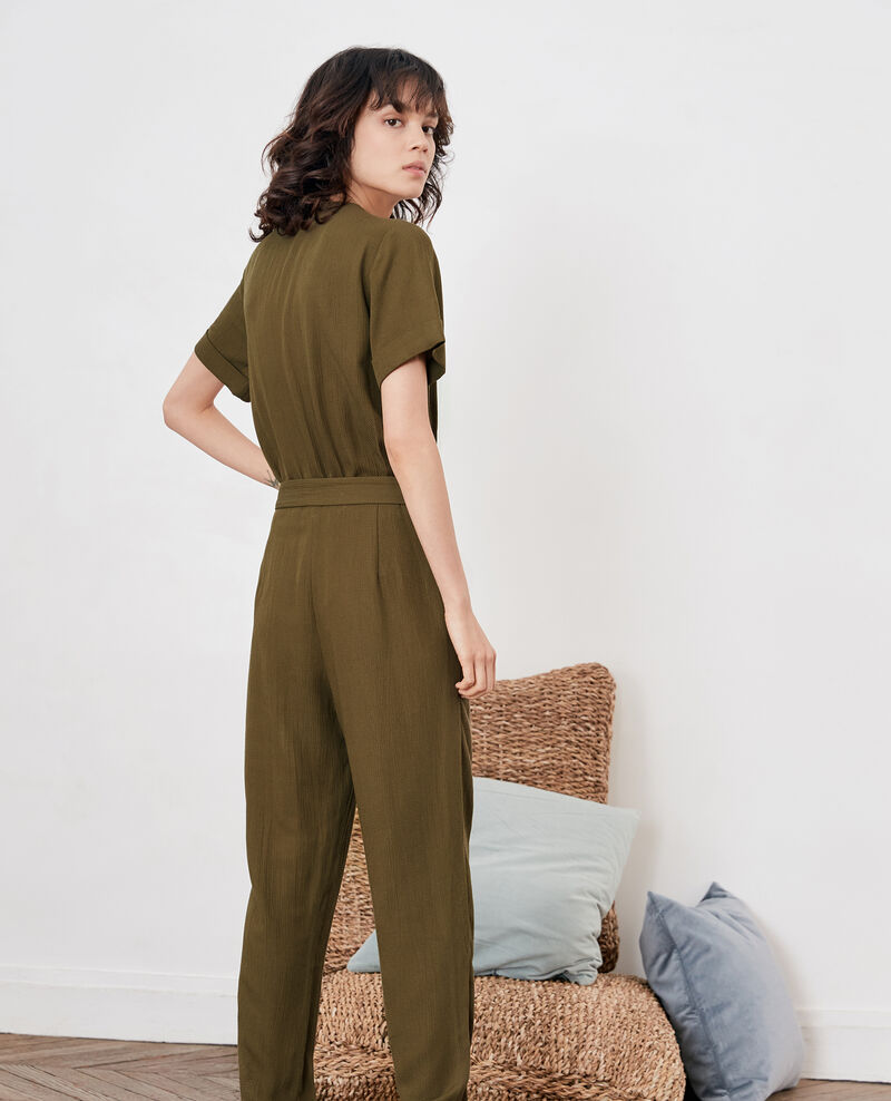 Jumpsuit Dark kaki Facination