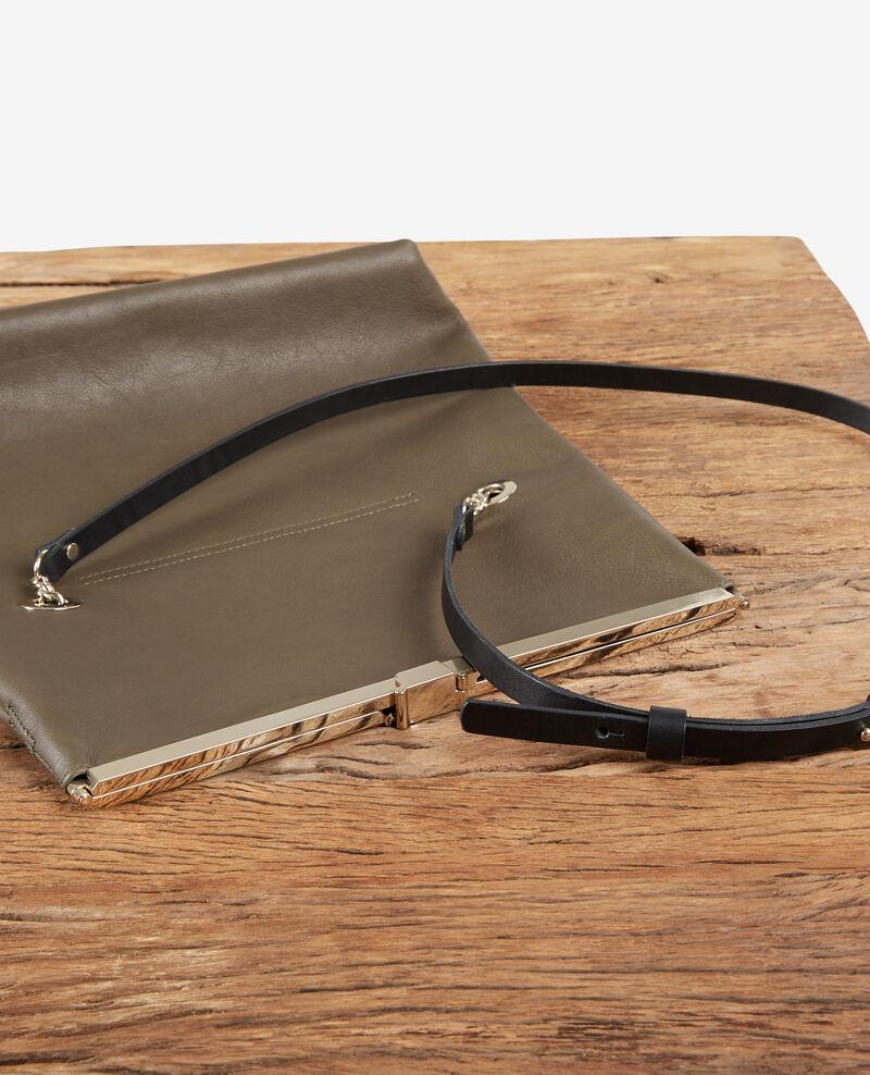 Leather bag  Kaki Facile