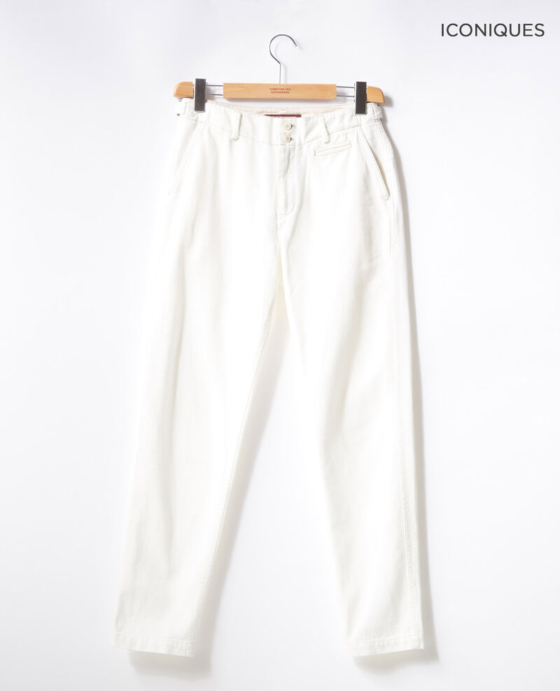 Chino-style jeans Off white Fayonne
