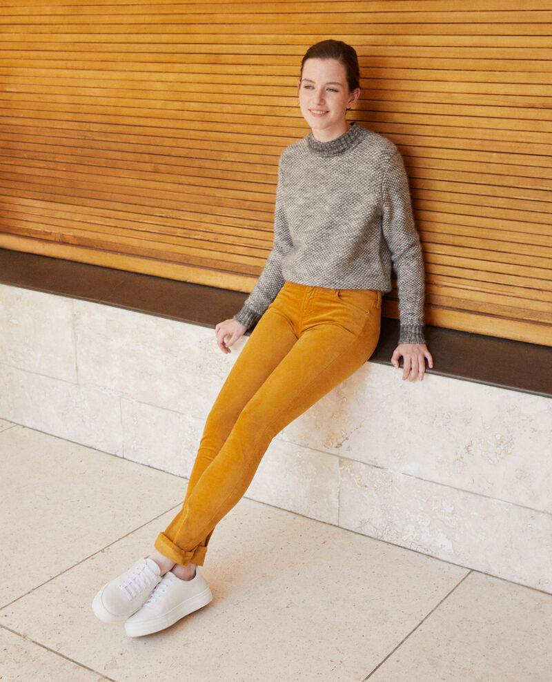 Slim fit jeans GOLDEN BROWN