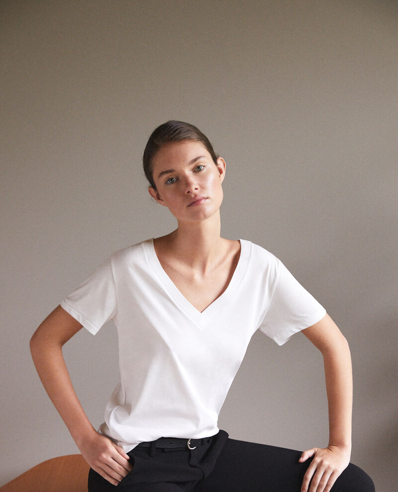 Léon T-shirt Off white Fallen