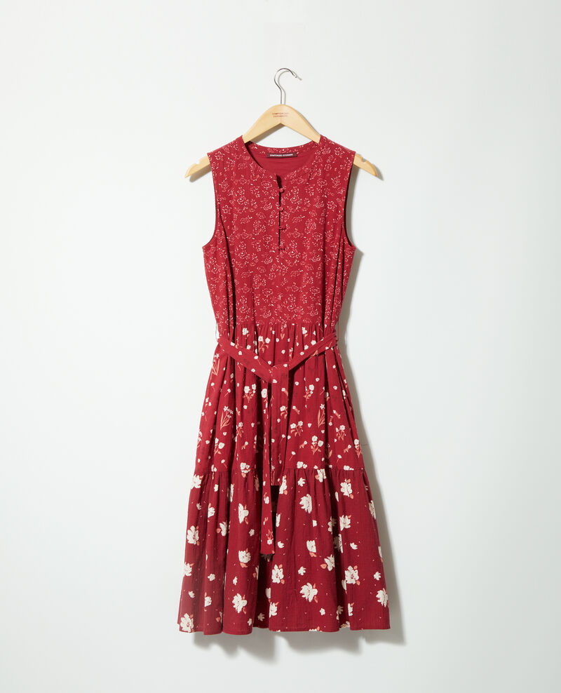 Printed dress Anthemis bloom rio red Garry