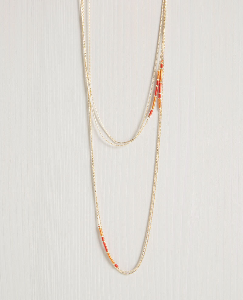 Double chain necklace Tomette Chapitre